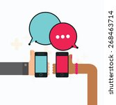 mobile instant messenger chat...