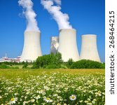 Small photo of Nuclear power plant Temelin in Czech Republic Europe