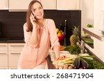 women in the kitchen | Shutterstock . vector #268471904