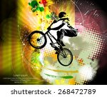sport vector illustration | Shutterstock .eps vector #268472789