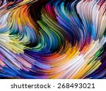 dynamic color series.... | Shutterstock . vector #268493021