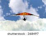 hang glider | Shutterstock . vector #268497