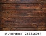Old Rustic Red Wood Background  ...