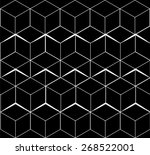 geometric  seamless  simple ... | Shutterstock .eps vector #268522001