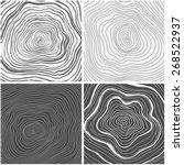 vector tree rings background ...   Shutterstock .eps vector #268522937
