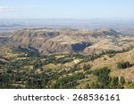 Small photo of Landscape in Amhara province close to Lalibela, Ethiopia, Africa