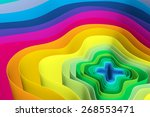 abstract background with lines... | Shutterstock . vector #268553471