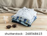 set of clothes and various
