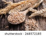 wheat and cereals   Shutterstock . vector #268572185