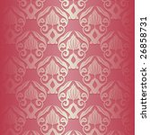 illustration of a pink vintage... | Shutterstock .eps vector #26858731