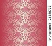 illustration of a pink vintage... | Shutterstock .eps vector #26858731