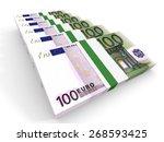 Stacks Of Money. One Hundred...