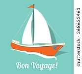 Simple Sailboat Summer Card In...