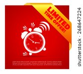 time limited offer poster | Shutterstock .eps vector #268647224