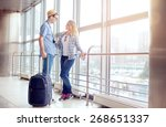 traveling concept. waiting for... | Shutterstock . vector #268651337
