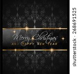 2016 new year and happy... | Shutterstock . vector #268691525
