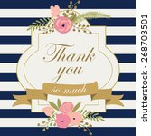 Thank You Printable With Cute...