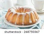 Bundt Cake  With Sugar Glaze O...