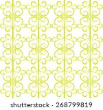 seamless vector pattern in the...   Shutterstock .eps vector #268799819