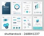 creative infographic vector... | Shutterstock .eps vector #268841237