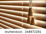 venetian blinds | Shutterstock . vector #268872281