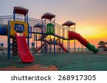playground | Shutterstock . vector #268917305