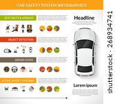 car safety driver condition... | Shutterstock .eps vector #268934741
