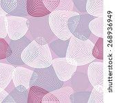 seamless geometric pattern. the ... | Shutterstock .eps vector #268936949