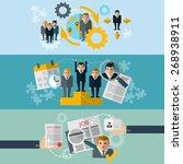 human resources personnel...   Shutterstock .eps vector #268938911