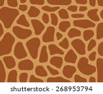 Brown Pattern Of Leather Of...
