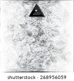 abstract web bacground.... | Shutterstock .eps vector #268956059