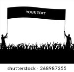 banner for sports championships ... | Shutterstock .eps vector #268987355
