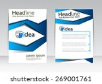 vector design for cover... | Shutterstock .eps vector #269001761