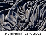 Closeup Shot Of Lava Formation...