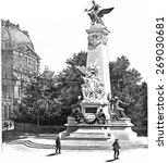 Monument Gambetta  Vintage...