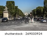 paris  france   july 14  2014 ... | Shutterstock . vector #269033924