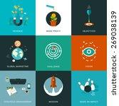 flat designed business concepts ...   Shutterstock .eps vector #269038139