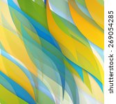 vector abstract background... | Shutterstock .eps vector #269054285