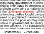 2015 General Election Written in a Newspaper
