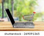 e commerce  shopping  internet. | Shutterstock . vector #269091365