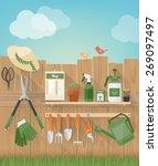 gardening and diy hobby garden... | Shutterstock .eps vector #269097497