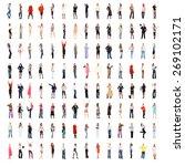 united company achievement idea  | Shutterstock . vector #269102171