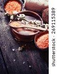 aromatherapy spa set  spa...   Shutterstock . vector #269115389