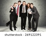 business  team  people. | Shutterstock . vector #269122391
