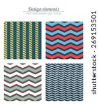 seampless pattern. geometric  | Shutterstock .eps vector #269153501