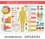 medical infographics set... | Shutterstock .eps vector #269183261
