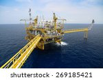 offshore oil and gas production ... | Shutterstock . vector #269185421