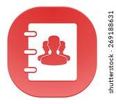 notebook  address  phone book... | Shutterstock . vector #269188631