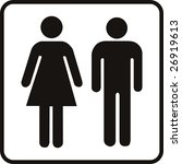 vector male and female sign | Shutterstock .eps vector #26919613