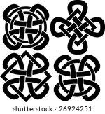 celtic knots | Shutterstock .eps vector #26924251